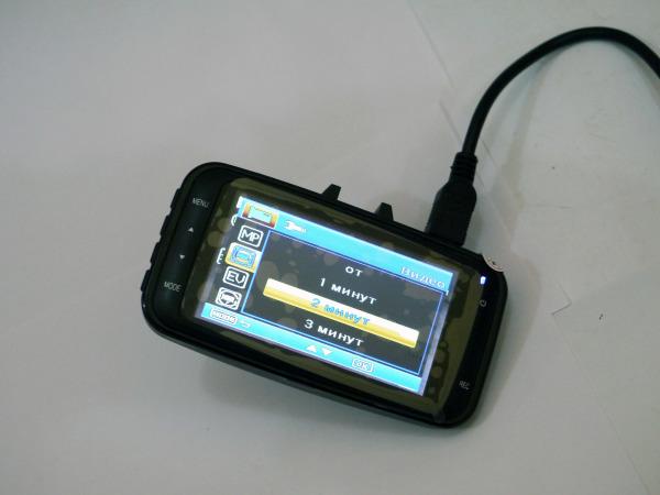Видеорегистратор Car DVR-GS8000L FullHD 1080P c G-сенсором | 450x600